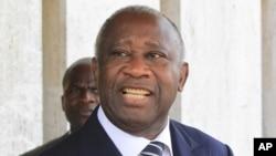 Le président Laurent Gbagbo