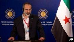 모아즈 알 카티브 시리아국가연합 대표 (자료사진)
