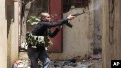 敘利亞的戰鬥再次波及到鄰國黎巴嫩境內