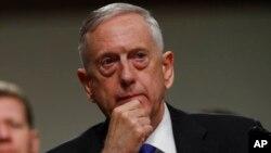 Menteri Pertahanan AS Jim Mattis (foto: dok).