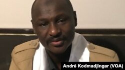 Le général Baba Ladé, ex-opposant armé passé à l'opposition démocratique à N'Djamena, au Tchad, le 7 avril 2021.