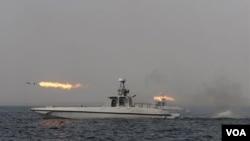 Desde hace una semana, Irán lleva a cabo maniobras navales que se prolongarán hasta el 3 de enero.