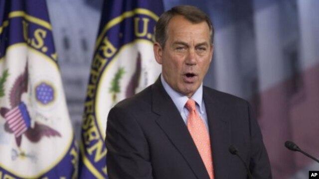 Speaker of the US House of Representatives, John Boehner,  May 12, 2011