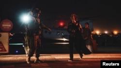 ევაკუაცია ქაბულის აეროპორტში, ავღანეთი