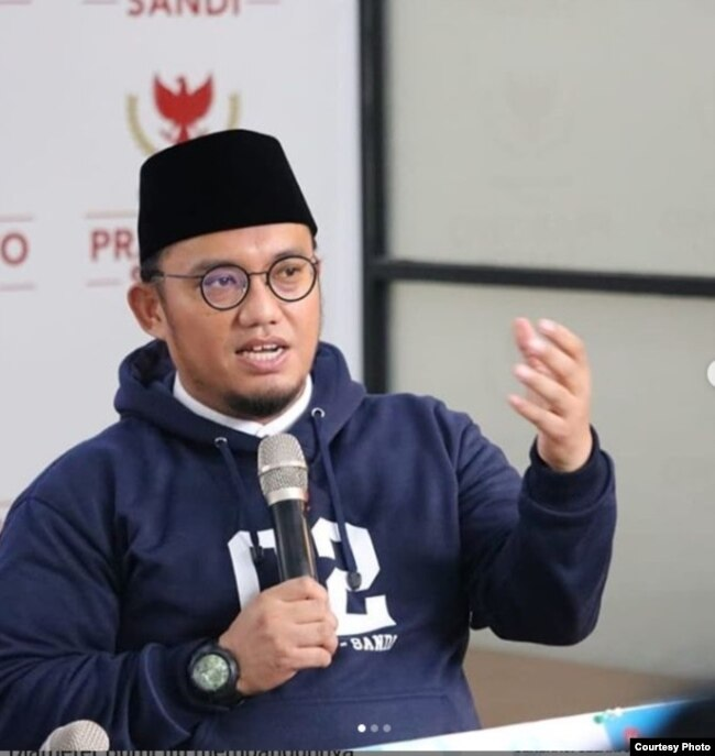 Juru bicara BPN Prabowo-Sandi, Dahnil Anzar Simanjuntak (Foto: Instagram).