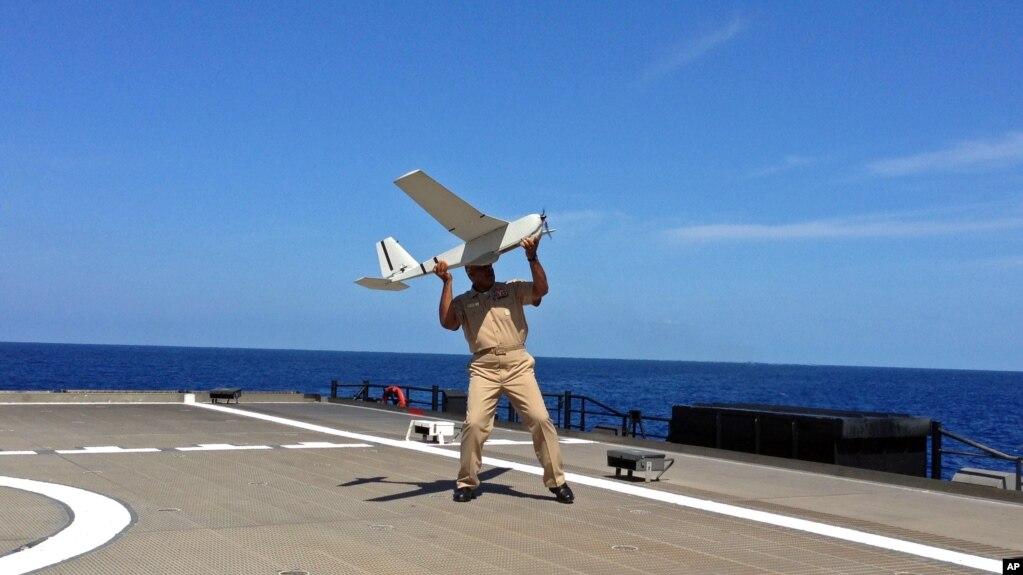 Hải quân Mỹ thử thiết bị theo dõi mới từ trên không gần Key West, bang Florida (ảnh tư liệu)