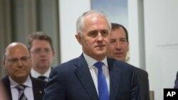 Tân Thủ tướng Australia Malcolm Turnbull.