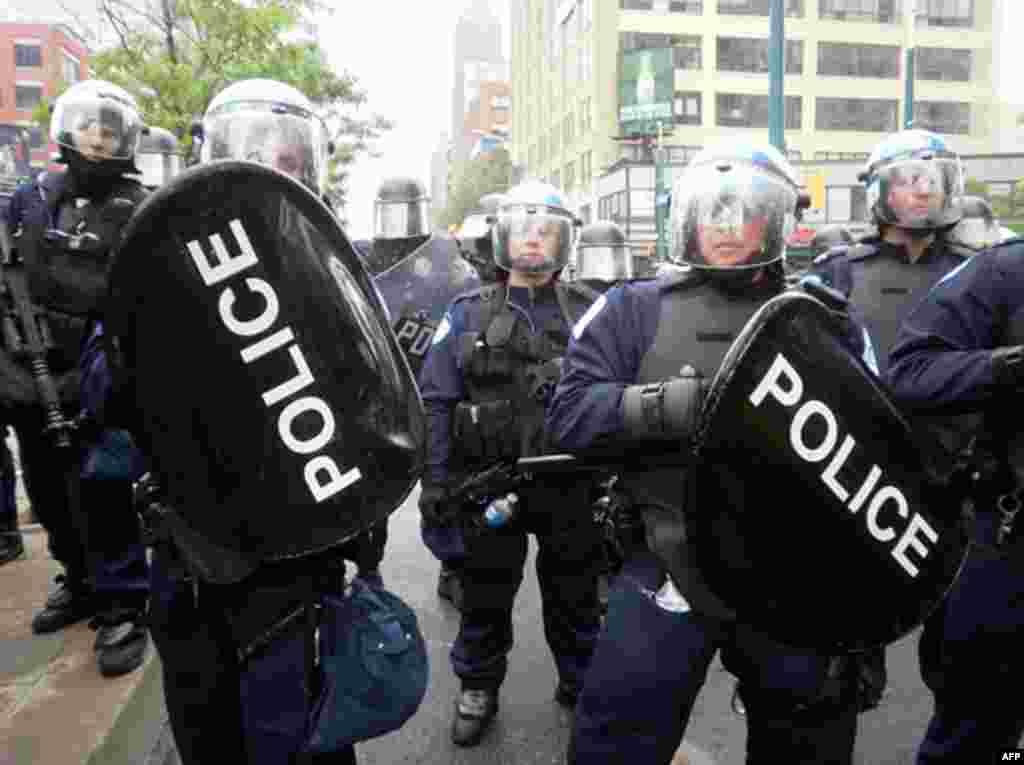 В субботу, 26 июня, обстановка на улицах стала напряженной