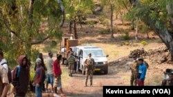 Evacuação(Foto Kevin Leandro)