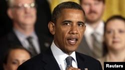 En su comparecencia en la Casa Blanca, Obama ha insistido en la importancia de la clase media para el crecimiento económico de los EE.UU.
