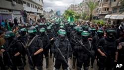 عکس آرشیوی از نیروهای امنیتی حماس در غزه
