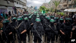 Membros do grupo Hamas