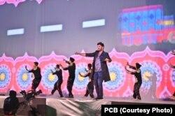 پاکستان سپر لیگ سیزن فائیو کا کراچی اسٹیڈیم میں رنگا رنگ افتتاح
