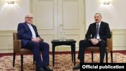 İlham Əliyev və Frank-Valter Ştaynmayer