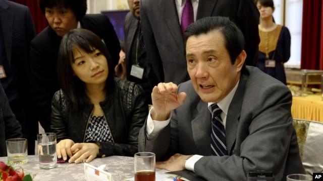 FILE - Taiwan's President Ma Ying-jeou.