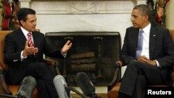 El presidente Obama y el mandatario mexicano, Enrique Peña Nieto, ya se reunieron en noviembre pasado en la Casa Blanca.