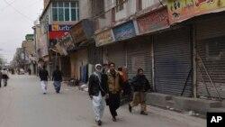 ارمان لونی کے قتل کے بعد کوئٹہ میں مکمل ہڑتال۔ فائل فوٹو