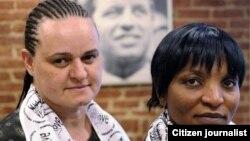 Jenni Williams and Magogonga Mahlangu