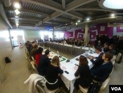 Okrugli sto EU i Zapadni Balkan, u organizaciji Centra za evropske politike, u beogradskom hotelu Zira, 28. novembra 2018.