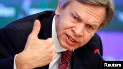 Rusya parlamentosu alt kanadı Duma'nın Dışişleri Komisyonu başkanı Aleksey Puşkov