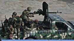Une image prise lors du conflit armé en Côte d'Ivoire.