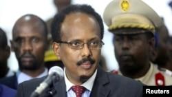 모하메드 압둘라히 모하메드 소말리아 대통령 (자료사진)