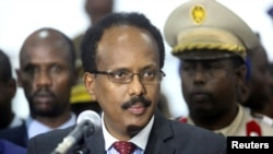 Rais wa Somalia Mohamed Abdullahi Farmajo