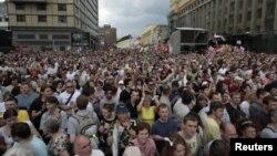 Протесты 12 июня 2012 года в Москве, Россия