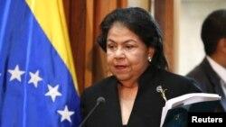 La presidenta del Tribunal Supremo de Justicia, Luisa Estela Morales, dijo que en Venezuela el conteo manual no existe.