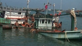 The boat was seized in the Bashi Channel, between Taiwan and the Philippines.