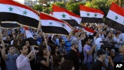 ههزاران کهس بۆ پشتیوانی سهرۆکی سوریا خۆپێشاندان سازدهکهن