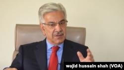 وفاقی وزیر برائے پانی و بجلی خواجہ آصف (فائل فوٹو)