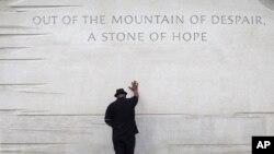 Đài tưởng niệm Martin Luther King Jr tại Washington.