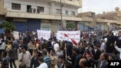 Dara'da Zırhlı Araçlarla Kente Giren Askerler Birçok Kişiyi Tutukladı