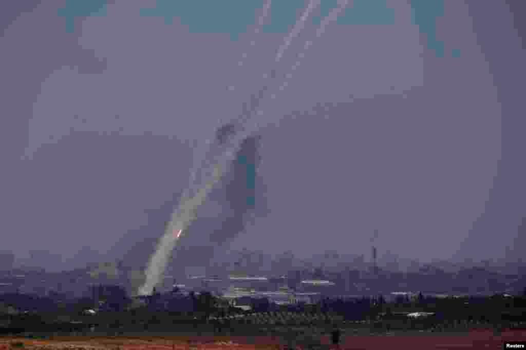 Qəzza Zolağından İsrail ərazilərinə raket hücumları - 10 iyul, 2014