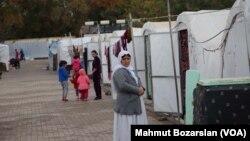 Kamp pengungsi warga Yazidis Irak di Diyarbakır, Turki (foto: dok).