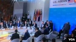 奥巴马与东盟领导人举行峰会 (美国之音莉雅拍摄)