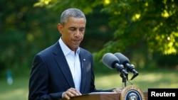 آقای اوباما گفت که طیاره های امریکای آماده حمله بر تروریست ها است