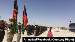 سربازان قول اردوی ۲۱۵ میوند در هلمند