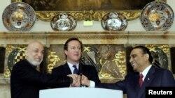 پاکستان، افغانستان اور برطانیہ کا سہ فریقی اجلاس