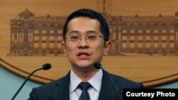 台湾总统府发言人范姜泰基(总統府照片)
