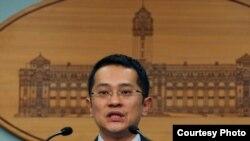 台灣總統府發言人范姜泰基(總統府照片)