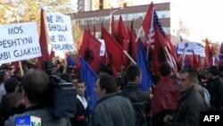 Maqedoni: Protesta kundër planeve të qeverisë për regjistrimin e popullsisë