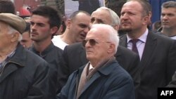 Prishtinë: Protestë për lirimin e katër ish pjesëtarëve të UÇK-së