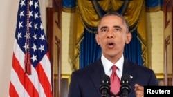Presiden Obama dalam pidatonya yang disiarkan melalui televisi pada 10/9/2014 mendeklarasikan perang terhadap organisasi militan yang menyebut diri mereka Negara Islam.