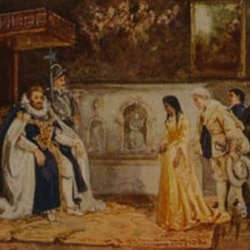 Pocahontas meets King James the First