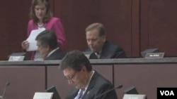 美國國會眾議院情報委員會於週四舉行的聽證會(視頻截圖)
