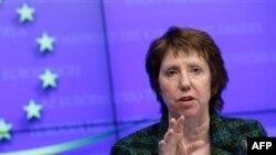 На підтримку дипломата ЄС в Україні виступила представниця ЄС з питань зовнішньої політики Кетрін Ештон