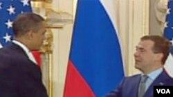 Predsjednici SAD i Rusije Barack Obama i Dmitrij Medvjedev