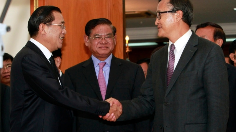 Hun Sen, Sam Rainsy Slated for Talks